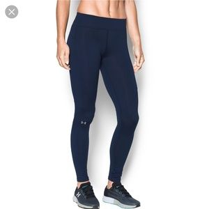 Under Armour ColdGear Elements Navy Leggings